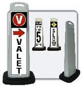 LED SD2K-Sign Panel Ideal for any valet operation or parking garage.