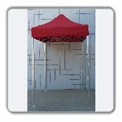 5'x5' Pop Up Canopy ( RED / BLACK )