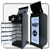 Valet Parking Podium with LED light, Valet Podium, Valet Key Storage